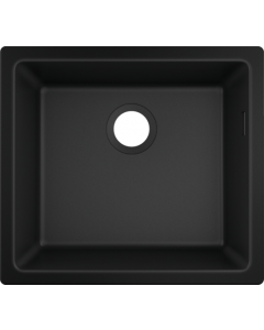 Кухненска мивка за монтаж под плот hansgrohe S510-U450-Graphiteblack