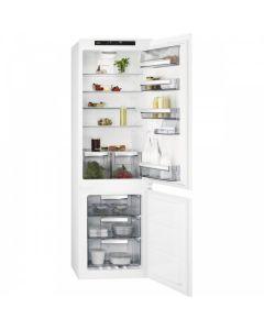 Хладилник с фризер за вграждане AEG SCE818E6TS